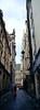 on the street (Steve only) Tags: hasselblad xpan 445 454 45mm f4 rangefinder kodak gold 200 gb200 film epson gtx970 v750 peopleinthecity snap landscape sky cloud brussels belgium