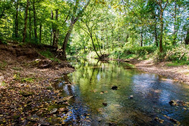 Hoosier National Forest- Lick Creek - September 9, 2017