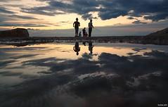 Beach life at dusk (KOSTAS PILOT) Tags: greece greeklife peloponese patras achaia patraikos coast beach ionion mediterranean water mirroring reflection colors sky symmetrical symmetry clouds sunset silhouette shadows goldenlight dusk sony sonyz2 xperia lowview fishing fisherman ελλάδα πελοπόννησοσ πατρα αχαιασ πατρινοηλιοβασίλεμα ηλιοβασίλεμαπατρασ χρυσηωρα χρυσοφωσ λυκόφωσ twilight χρωματα αντανάκλαση ουρανόσ συννεφα συμμετρία σκιεσ σιλουέτα θαλασσα sea kostaspilot horizon οριζοντασ παραλιαπατρων ιονιον μεσόγειοσ