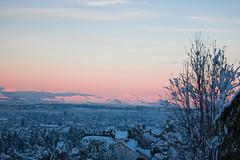 Vacaciones! [explored] (Letua) Tags: bariloche atardecer cielo invierno landscape naturaleza nature nieve paisajes sky snow sunset vacaciones winter