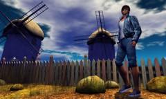 Mr. Blue Skies (carsoncaiben) Tags: itsgau themill adam catwa ikon nomatch labyrinth nivaro adclothing