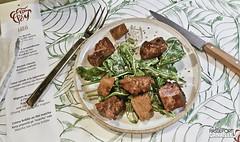 Salade César, mais avec du thon