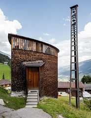 Saint Benedict Chapel. (Stefano Perego Photography) Tags: stepegphotography stefano perego building church chapel peter zumthor sumvitg switzerland modern architecture design