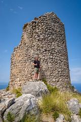 Hiking a Watchtower near Balitx D´Avall (Arne Bo) Tags: mallorca vacation urlaub tramuntana wandern hiking balearen landscape landschaft coastline küste