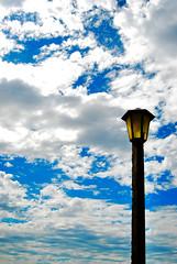 """""""Do you ever ask yourself... (Anselmo Portes) Tags: sky ceu lamp poste blue clouds nuvens minimal minimalism minimalista minimalismo minimalist céu céuazul bluesky uruguai uruguay coloniadesacramento"""