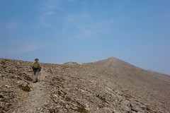 Ascending Mount Wright (MountainBackpacker) Tags: bobmarshallwilderness lewisandclarknationalforest montana mountwright mountwrighttrailno60 petebanta