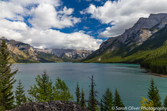 Lake Minnewanka (SarahO44) Tags: improvementdistrictno9 alberta canada ca minnewanka canon 6d outdoors mountains trees clouds banff national park turquoise