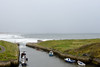Seaton Suice on a showery day (DavidWF2009) Tags: northumberland seatonsluice harbour sea waves rain shower