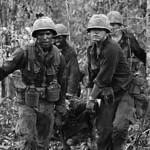 TAY NINH 1967 - Carrying Wounded Comrade thumbnail