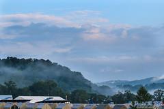 Morning Echo (Daniel M. Reck) Tags: 2017nationalscoutjamboree 2017jambo bsa basecampecho boyscoutsofamerica dmrfeature dmrphoto glenjean mounthope nsj nationalscoutjamboree sbr scouting summitbechtelreserve westvirginia year2017 clouds hills landscape mist nature outdoors sky unitedstates