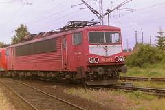 DB 155240-5 (bobbyblack51) Tags: db class 155 dr 250 lew coco electric locomotive 1552405 2502409 bw seddin 2001