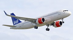 'Jarngerd Viking' SE-DOZ Airbus A320 251 Neo SAS (Dave Russell (1.5 million views thanks)) Tags: sedoz doz oz a320 320 200 251 251n neo airbus sas scandinavian airlines system airline aircraft aeroplane airplane airlinet jet linet air plane liner transport public vehicle flying fly aviation aero flight approach landing outdoor london heathrow airport 27r right 27 320neo star alliance jarngerd viking 7565 cn7565 cn