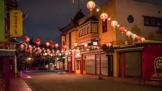 Chinatown before Sunrise