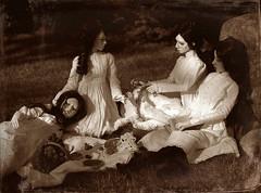 Picnic at Hanging Rock (dolls of milena) Tags: bjd abjd resin doll retro vintage portrait picnic sian elfdoll rita emma