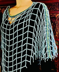 Aquarienne bateau (vashtirama) Tags: lacing laced convertible poncho wrap shawl p2p pointtopoint crochetpattern crochetbeachcoverup beads dvpublished lotus summer tunisian hires filet colorwork filter seamfinishing cornerstart tunisiancrochetlace triangle shaped vest lacytunisiancrochet tallstitch beach mermaidy coverup drape mesh net tunisiancrochet filetcrochet lace lacy designingvashtilotusyarn lacingcrochet patterndownloadablepdfmydesign vashtiyarn dorischanyarn beaded seedbeads fringe twistedfringe beadedfringe triangular sidetoside s2s vneck bateau crochetlinenstitch crochetmossstitch crochetseedstitch crochetponcho beachponcho
