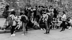 あなたのチップがいいです (Charliebubbles) Tags: sigma1020mm wales conway photoshopcc candid blackandwhite mono street 2017