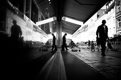 Wish life would be an silent movie (AlphaAndi) Tags: monochrome menschen menschenbilder mono leute people personen peoples portrait portraits urban trier tiefenschärfe wow sony streetshots schwarzweis street streets streetportrait streetshooting sw sonya7ii streetphotographie strase strasenleben streetlife face fullframe vollformat blackandwhite blackwhite bw bokeh bokehlicious