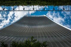 20 Fenchurch Street | Up Close (James_Beard) Tags: walkietalkie 20fenchurchst london londonarchitecture londonlandmarks modernarchitecture blueskies lookingup skyscraper fujixt2 fujixf1855