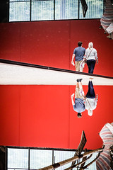 Spiegelwelt (Frank Lindecke) Tags: nordart kunstwerk carlshütte wwwnordartde wasser