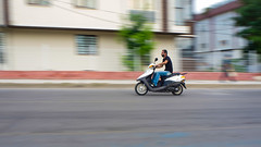 Panning (Vyc_Majoris) Tags: pan panning bokeh people road outdoor wehicle olympus em10 city technique motorcycle bike