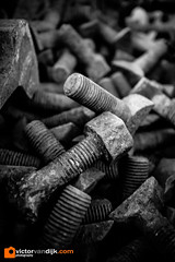 Nuts & Bolts (Victor van Dijk (Thanks for 4M views!)) Tags: nut nuts bolt bolts moer moeren bout bouten rust crusty rusty roest roestig 22mm efm eos m3 fav fave faved favorite