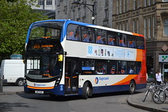 Stagecoach Manchester 10846 SN17MJE (Will Swain) Tags: seen manchester piccadilly gardens 3rd june 2017 greater city centre north west bus buses transport travel uk britain vehicle vehicles county country england english stagecoach 10846 sn17mje