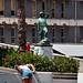 Defence force soldier statue, Gibraltar