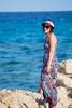 Robe longue en mailles multi colors (Elowdi) Tags: robe longue mailles multicolors été summer dress mer sea femme woman vêtement habit clothes outfit créa crea création creations mode fashion abito lungo donna