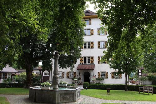 Auf Schloss Böttstein