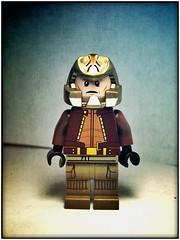 Viper Pilot (LegoKlyph) Tags: lego custom bricks mini figure blocks viper pilot bsg battle star space scifi tv retro 70s 80s hero robots adventure