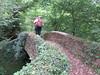 UK - Somerset - Exmoor National Park - Horner - Walking across Packhorse bridge (JulesFoto) Tags: uk england somerset clog centrallondonoutdoorgroup exmoornationalpark holnicoteestate packhorsebridge horner walking