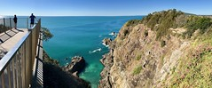 Whale Watching Spot - Bennetts Head Lookout, Forster, NSW (Black Diamond Images) Tags: view bennettshead bennettsheadlookout lookout forster forsternsw greatlakesnsw nsw midnorthcoast australia cliffs landscape coastallandscapes iphonepanorama iphone7pluspanorama appleiphone7pluspanorama panorama iphone7plus appleiphone7plus iphone whalewatching