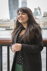 economics-5922 (Official QMUL Image Library) Tags: female smile outdoor queen mary university postgraduate student hss sef economics