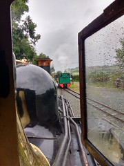 Passing Trains (Tanllan) Tags: wllr welshpool llanfair light railway wales heritage tourist railroad steam train superb bagnall