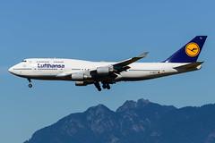 CYVR - Lufthansa B747-400 D-ABTL (CKwok Photography) Tags: yvr cyvr lufthansa b747 dabtl