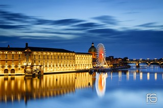 Toulouse blue hour