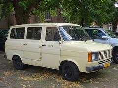 1983 Ford Transit (harry_nl) Tags: netherlands nederland 2017 utrecht ford transit 61lrk3 sidecode7