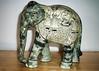 Taj Exotica our souvenirs  painted elephant (blob59) Tags: taj exotica hotel tourists south luxury holiday elephant statue goa india