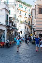 Amalfi (MikePScott) Tags: amalfi architecturalfeatures balcony builtenvironment featureslandmarks italia italy lamppost salerno sky streetlamp streetlight window campania