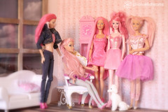 pink times (photos4dreams) Tags: ladiesinpinkp4d photos4dreams photos4dreamz p4d barbie fairy fee pink mattel hair dress doll toy barbies girl play fashion fashionistas outfit kleider mode puppenstube tabletopphotography reroot canoneos5dmark3