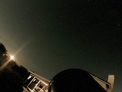 Moon rise and stargazing (bossco) Tags: timelapse hesperia meade moon nightsky backyard gopro