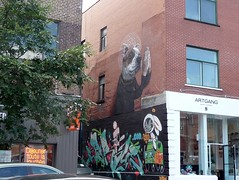 Montreal 2017 (bella.m) Tags: graffiti streetart urbanart montreal canada art muralfestival mural dog