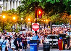 2017.08.13 Charlottesville Candlelight Vigil, Washington, DC USA 8112