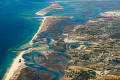 One of the nicest place to look at from the sky, Faro, Portugal (gc232) Tags: faro portugal livefromtheflightdeck golfcharlie232 aerial altitude view canon g7x fly landscape travel holiday holidays