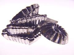Vintage (Gazman_AU) Tags: macromondays highkey metal chocolate mold vintage