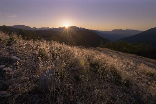Col de la Couillole Sunrise