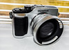 Olympus Pen E-PL2. (CWhatPhotos) Tags: cwhatphotos olympus four thirds 43 epl2 silver digital camera photographs photograph pics pictures pic picture image images foto fotos photography artistic that have which with contain artistc art pen epl