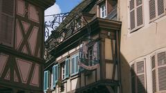 Magic Tudor (Nateolius) Tags: tudor style houses case graticci colmar france francia alsace alsazia lorena lorraine canon eos 500d street photography
