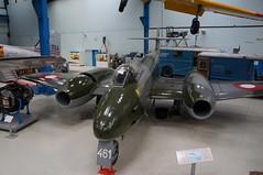 RDAF Gloster Meteor (Danner Poulsen) Tags: 20170723 461 rdaf gloster meteor helsingørtekniskmuseum museum aviation airmuseum aviationmuseum denmark danmark helsingør fly flymuseum