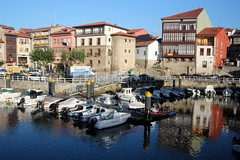 Llanes Harbour (Alan1954) Tags: llanes spain harbour holiday 2017 boats water reflections